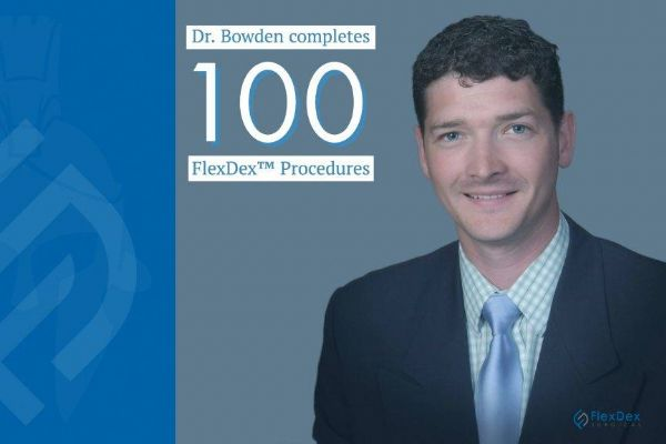 Surgeon performs 100th case using FlexDex
